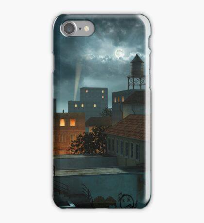 Zone Industrielle - Night iPhone Case/Skin