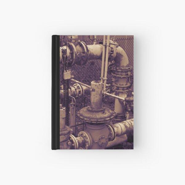 Rusty Pipe Duo Tone Hardcover Journal
