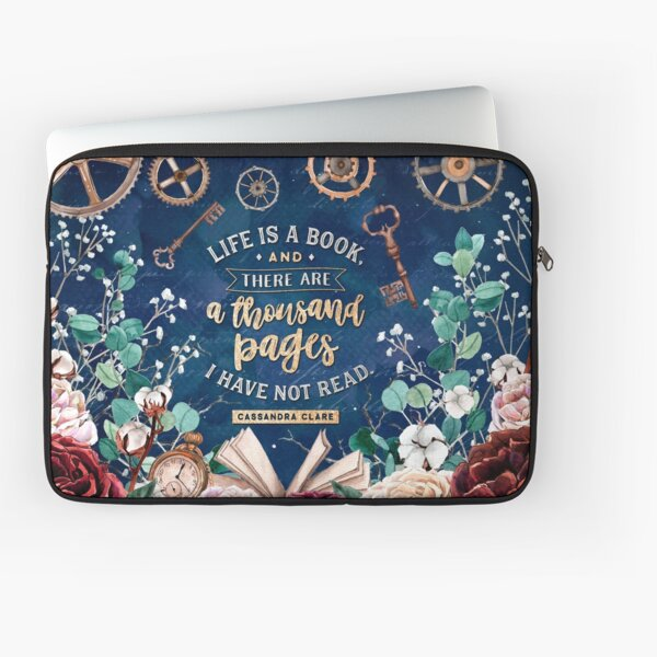 Life is a book Laptop Sleeve