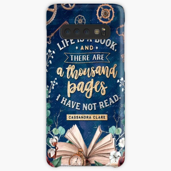 Life is a book Samsung Galaxy Snap Case
