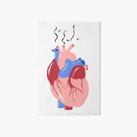 Love Stink Art Board Print