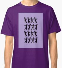 March of the Zombie TV Guys by Chillee Wilson Classic T-Shirt