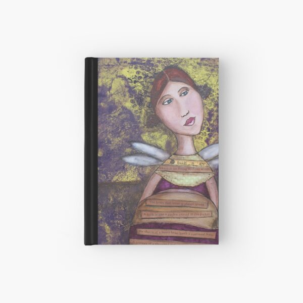 No flying without wings Hardcover Journal