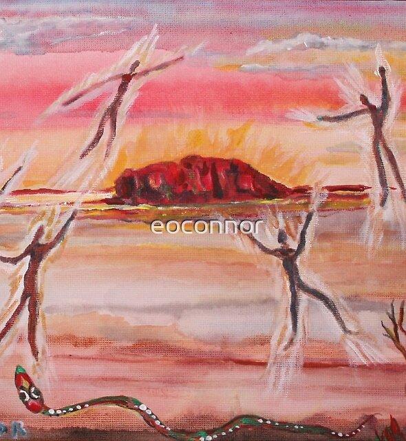 Uluru and Ancestor Spirits  by eoconnor