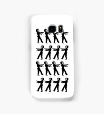 March of the Zombie TV Guys by Chillee Wilson Samsung Galaxy Case/Skin
