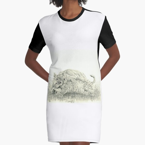 Play time  Graphic T-Shirt Dress