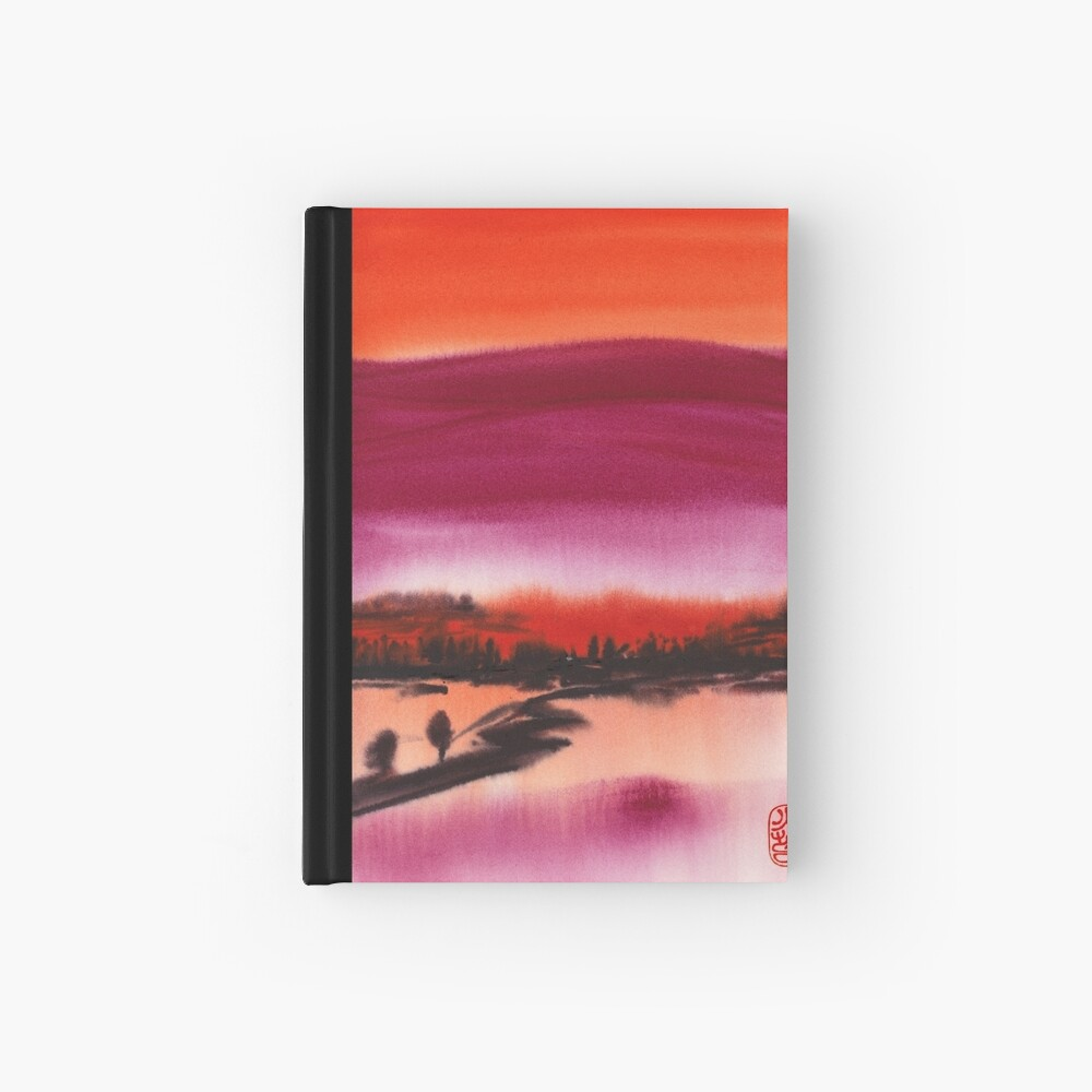 Summer Dusk Hardcover Journal