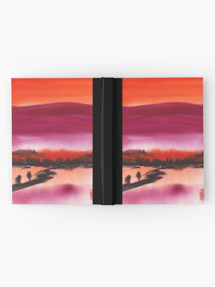 Alternate view of Summer Dusk Hardcover Journal
