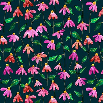 Touched By Love II #illustration #pattern  by 83oranges