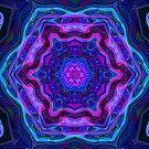 blue mandala by haroulita