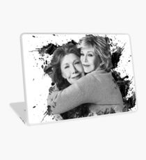 Grace and Frankie Black and White Laptop Skin