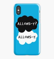 allons-y? allons-y. iPhone Case/Skin