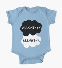 allons-y? allons-y. One Piece - Short Sleeve