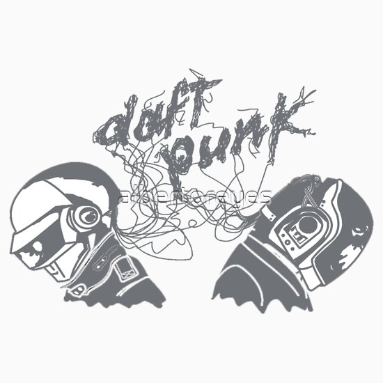 TShirtGifter presents: Daft Punk Heads