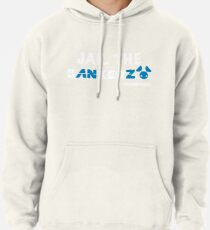 JAIL THE BANKERZ pig white Pullover Hoodie