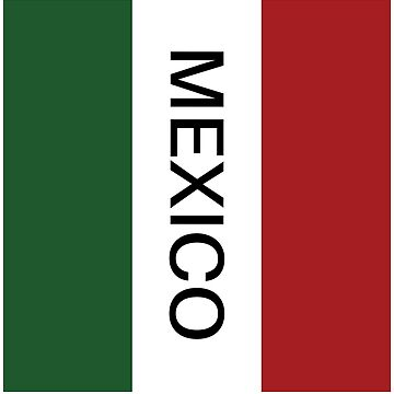 Mexico Trend Flag Shirt by Grampus