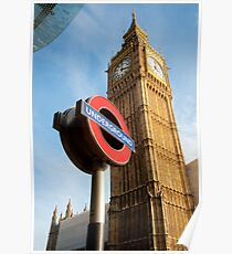Signs of London: UK Poster