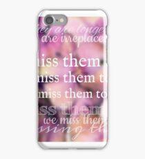I Miss Them Too iPhone Case/Skin