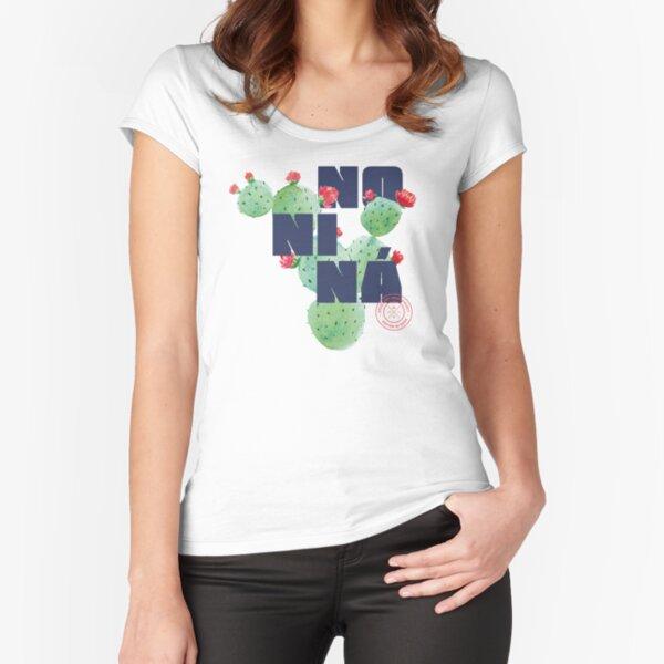 MALAGA NONINA Camiseta entallada de cuello ancho