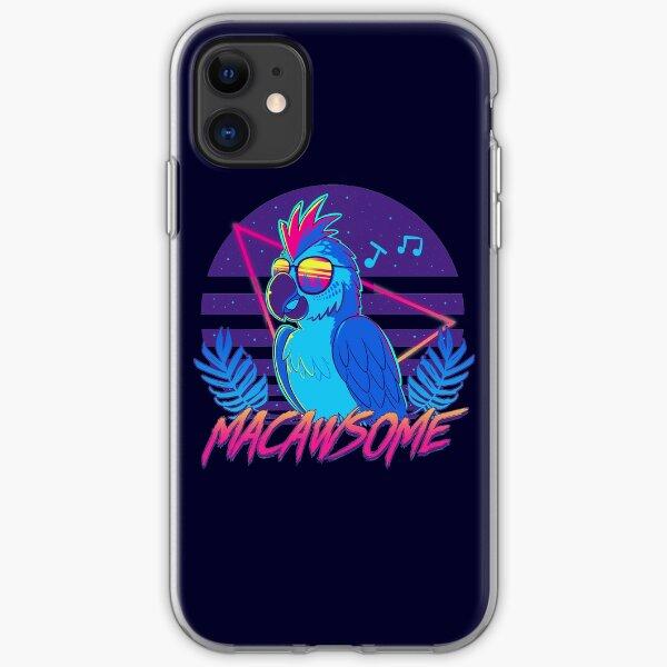 Macawsome iPhone Soft Case
