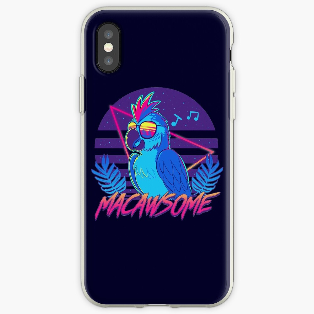 Macawsome iPhone Case & Cover