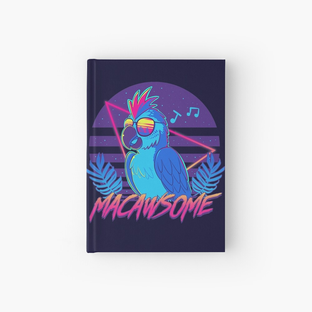 Macawsome Hardcover Journal