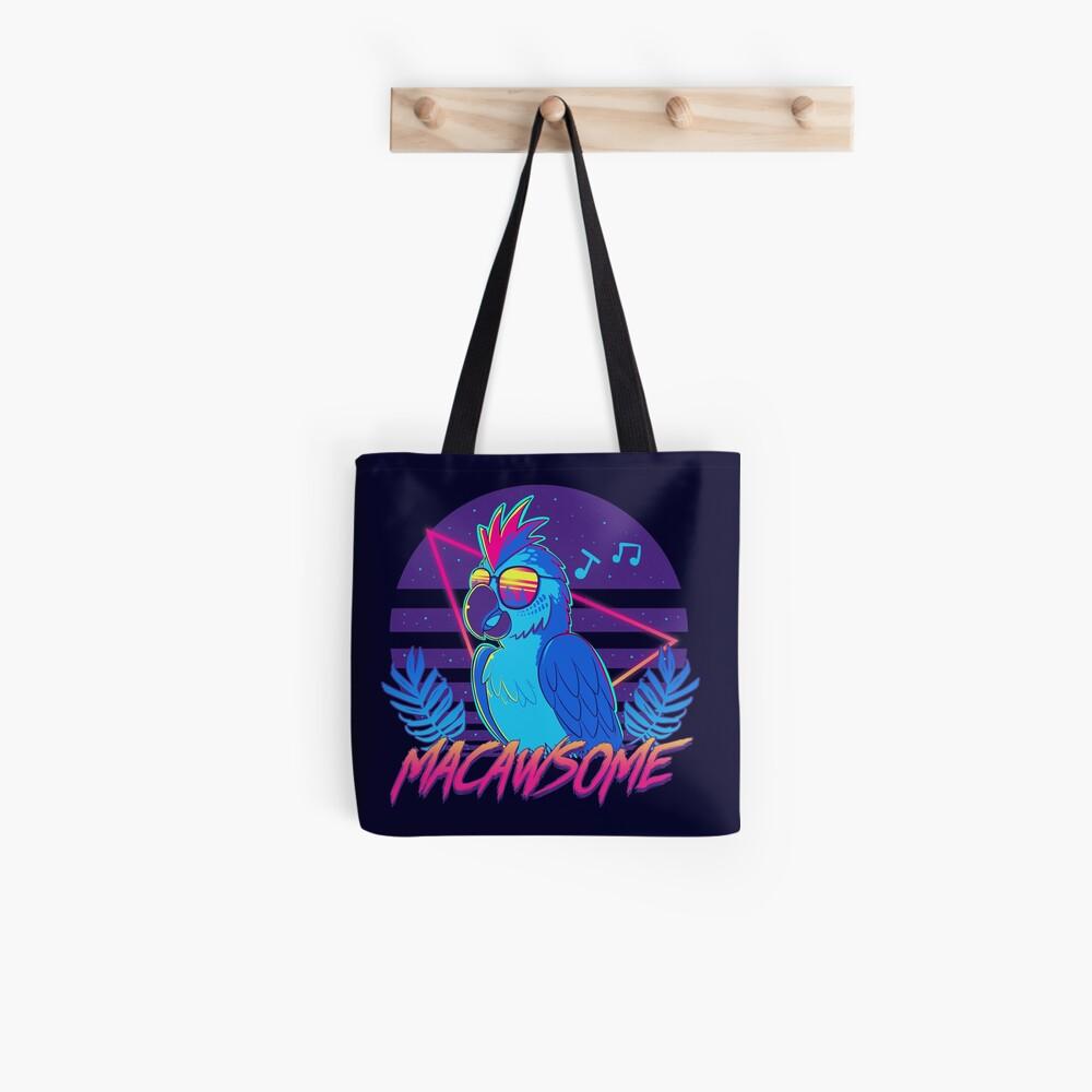 Macawsome Tote Bag