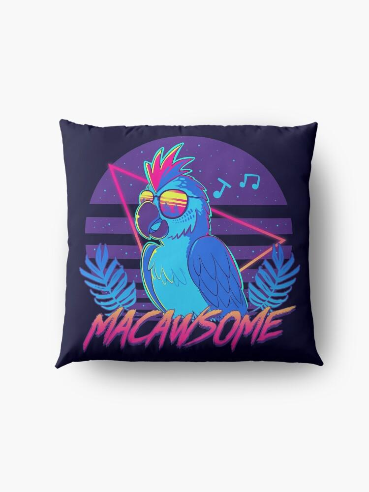 Alternate view of Macawsome Floor Pillow