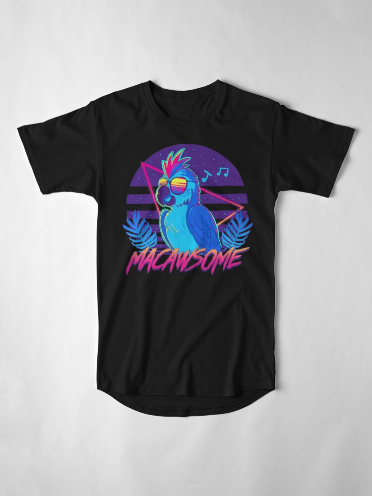 Alternate view of Macawsome Long T-Shirt