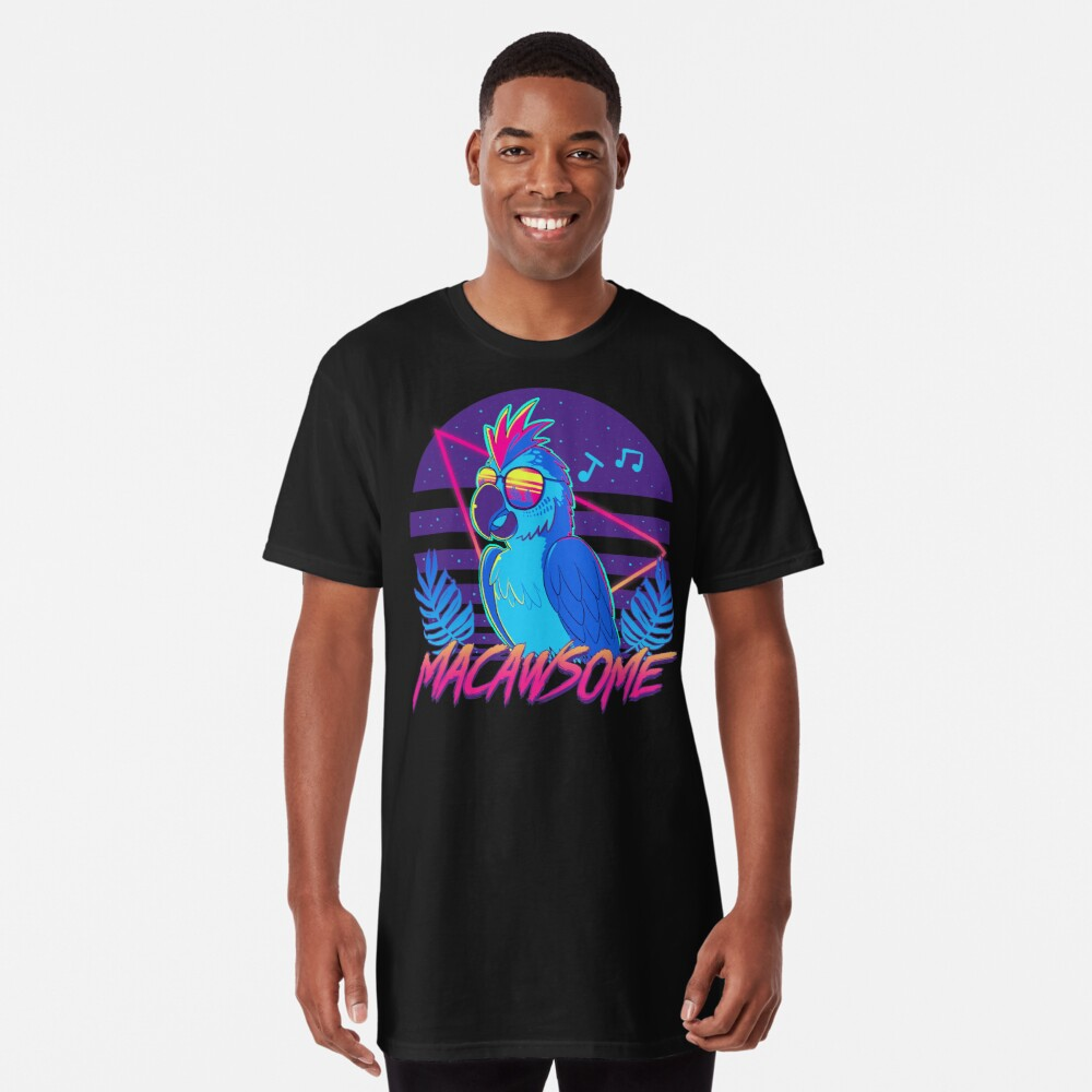 Macawsome Long T-Shirt