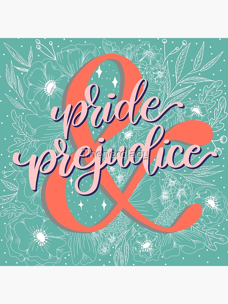 Pride and Prejudice Floral  by Thenerdlady
