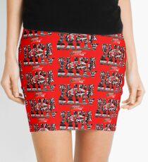 Slide Jump Rally - Red Mini Skirt