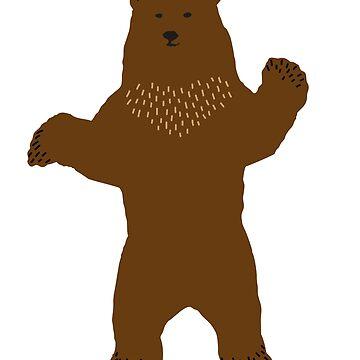 grizzly bear by Pferdefreundin