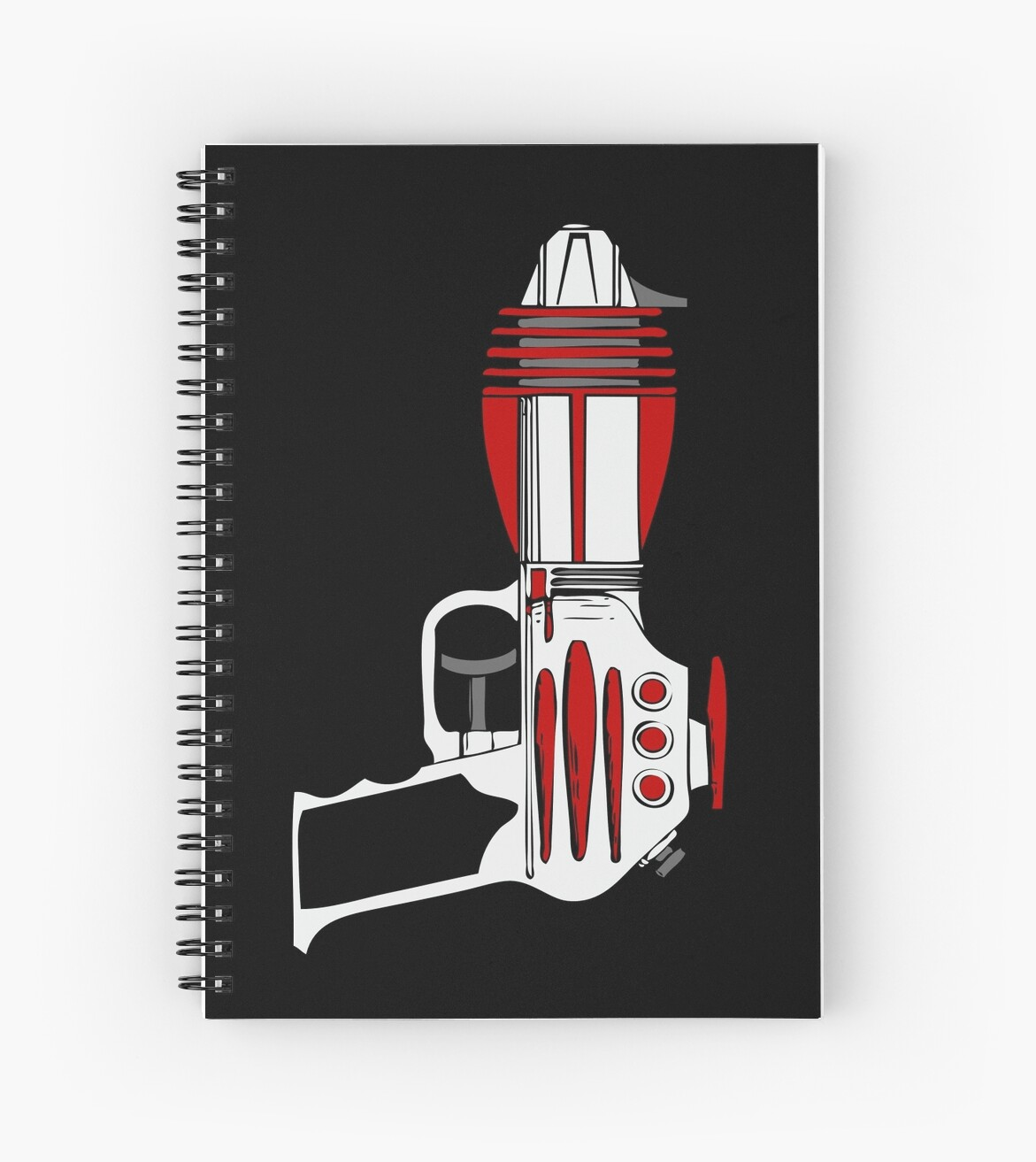Retro Space Ray Gun by Chillee Wilson by ChilleeWilson