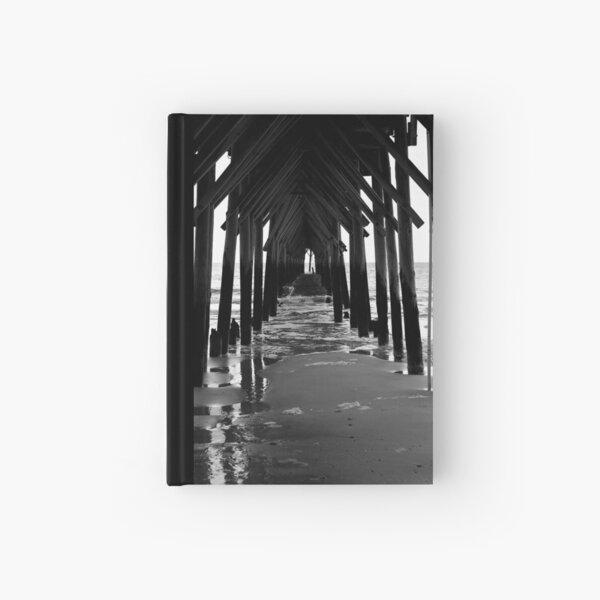 Under The Boardwalk Hardcover Journal