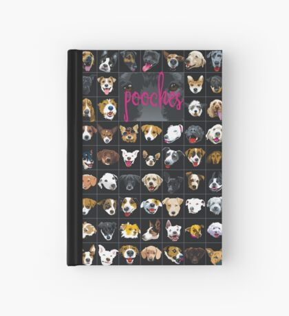 pooches Hardcover Journal