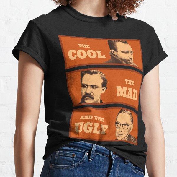 Camus Nietzsche Sartre T-shirt classique