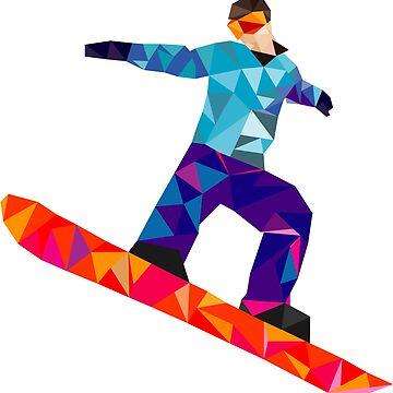 snowboard by Pferdefreundin