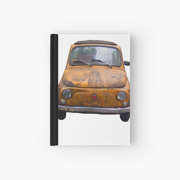 Rusty Fiat 500 Hardcover Journal