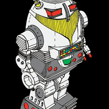 Retro Robot  by Chillee Wilson by ChilleeWilson