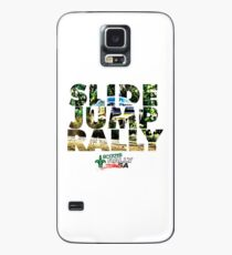 Slide Jump Rally - Colour/White Case/Skin for Samsung Galaxy