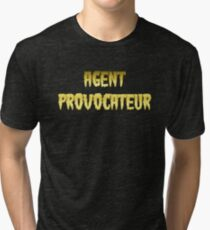 AGENT PROVOCATEUR by Chillee Wilson Tri-blend T-Shirt