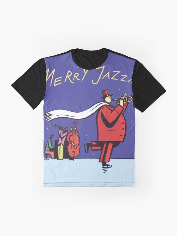 Alternate view of A Merry Jazzmas Graphic T-Shirt