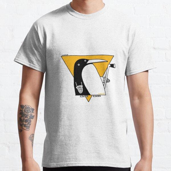 Cubist Penguin Classic T-Shirt