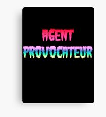 AGENT PROVOCATEUR by Chillee Wilson Canvas Print