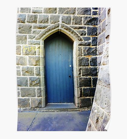 Verger's Entrance - United Church Poster