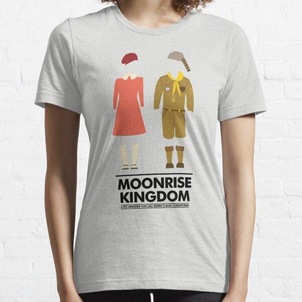 Moonrise Kingdom Outfit Movie Silhouette Essential T-Shirt