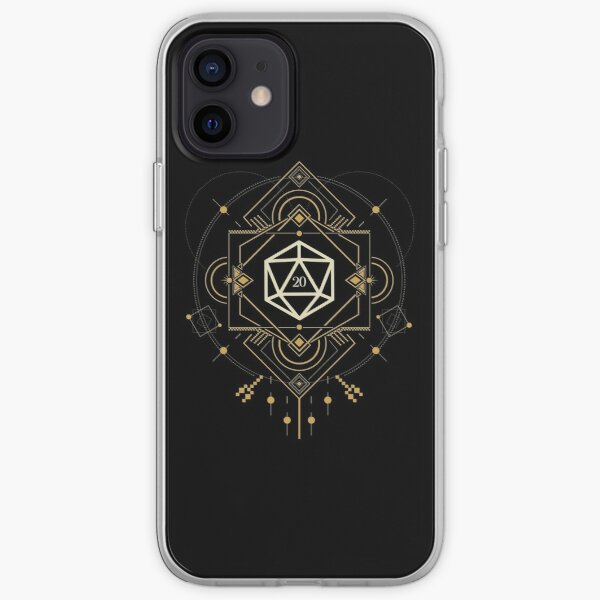 Esoteric D20 Dice of the Mystic iPhone Soft Case