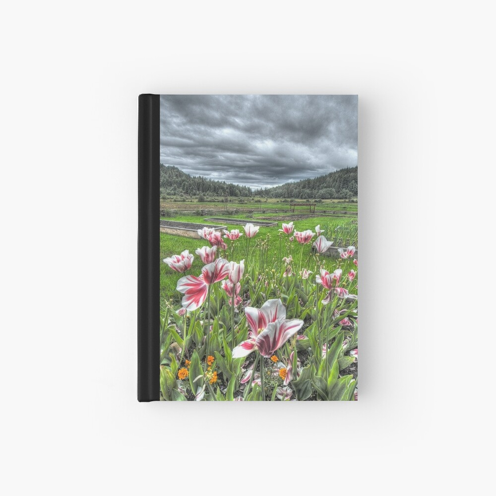 Spring on Punch's Farm Hardcover Journal