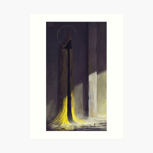 Lovecraft - Hastur, The King in Yellow Art Print